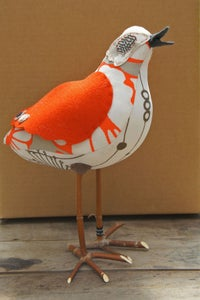 Image of Proud Orange Sandpiper