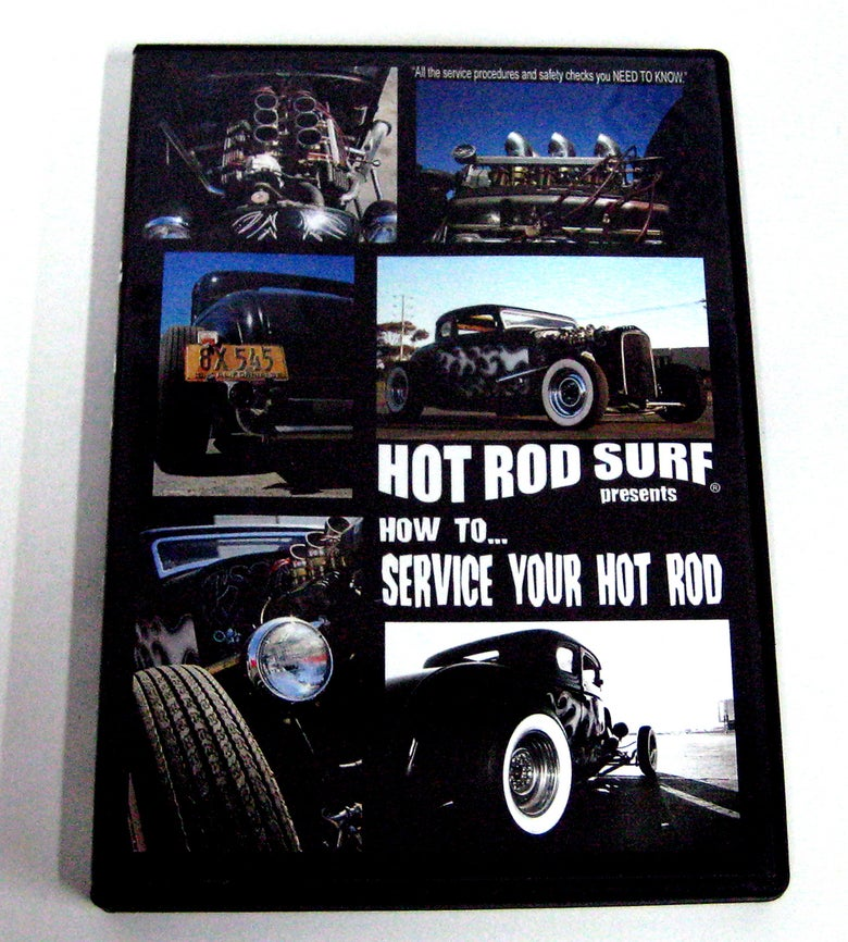Image of Hot Rod Surf ® HOTRODSURF presents How To Service Your Hot Rod ! - DVD Movie