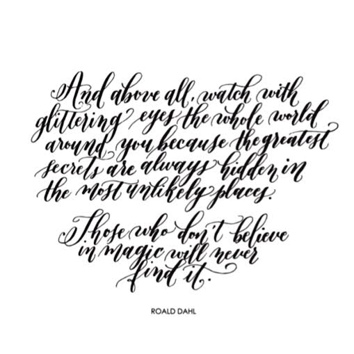 Image of The 'Believe in Magic' Quote