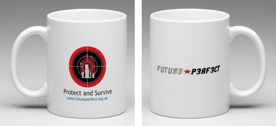 Image of Future Perfect - Protect and Survive Mug