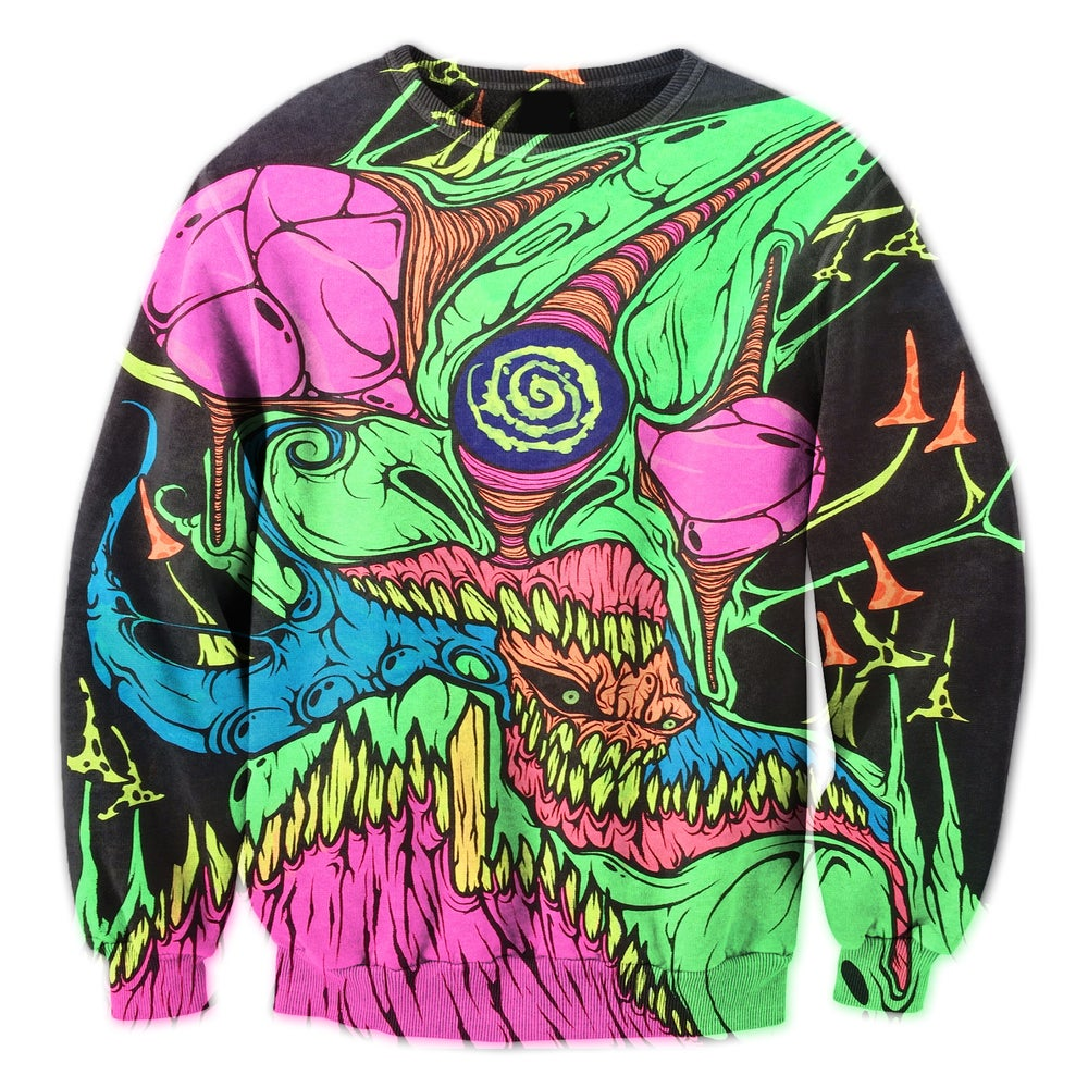 Image of The Blacklight Never Looked So Good Crewneck