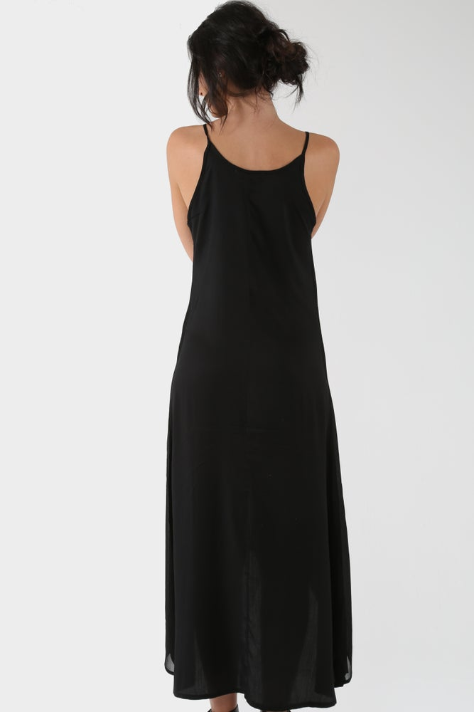 Image of Bohemian Black Beauty Dress