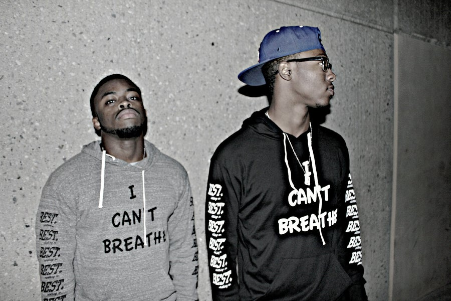 Image of #ICANTBREATHE HOODIES LEBRON JAMeS