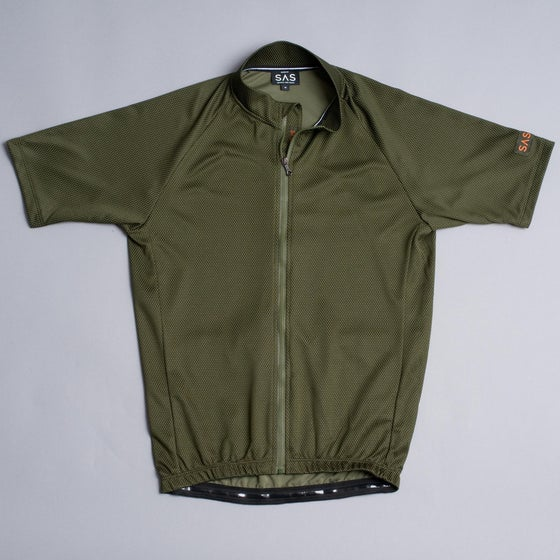 Image of SAS S1-A | RIDING JERSEY | GREEN