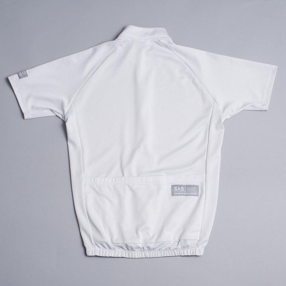 Image of SAS S1-A | RIDING JERSEY | WHITE