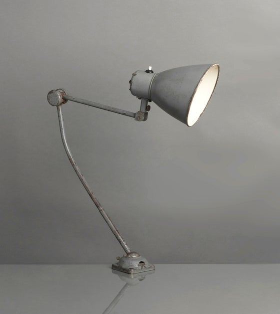 Image of Grey Table Lamp