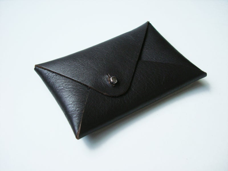 Image of Mt. Fuji cardholder brown