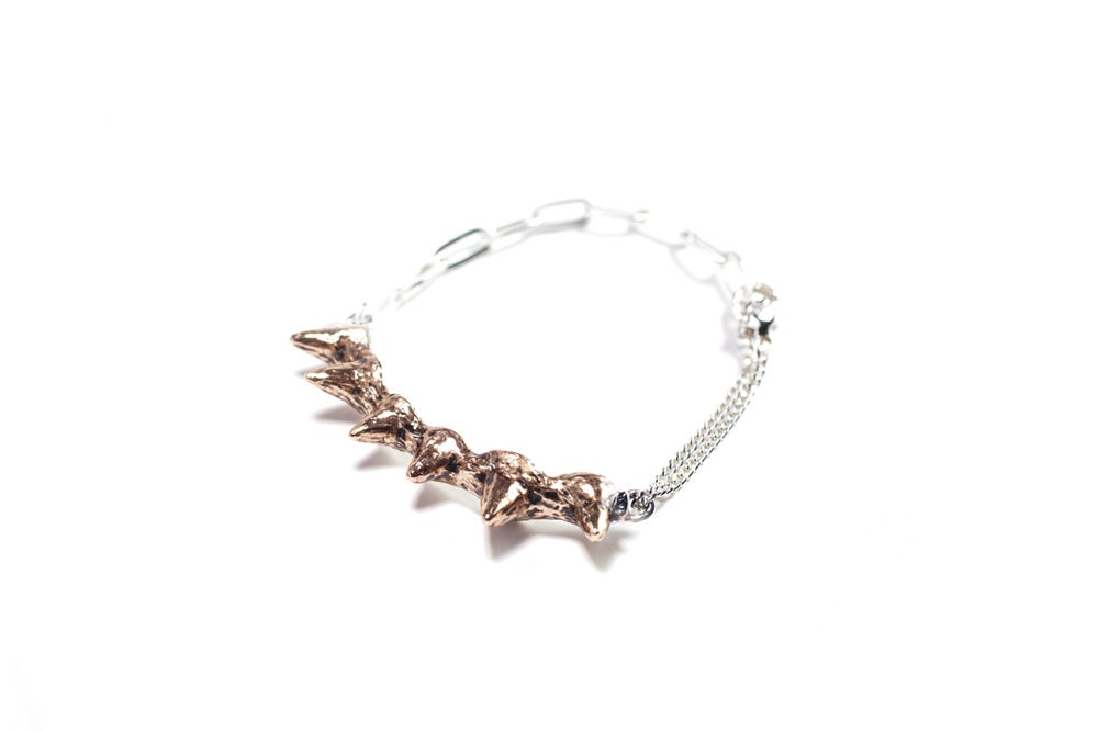 Image of Spike bronze bracelet