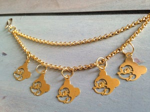 Image of Mickey Mouse Nose-to-Ear Chain