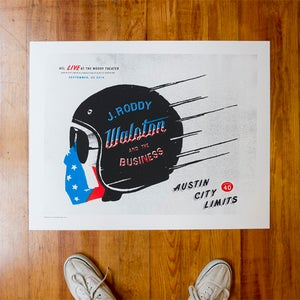 Image of J RODDY WALSTON AND THE BUSINESS - POSTER
