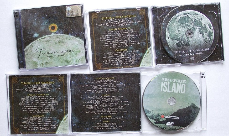 "Image of ""Dopo La Quiete"" (Cd) + ""Island"" (Dvd)"