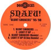 "Image of SNAFU!  ""BLUNT SMOKERS '95-'98"" EP"