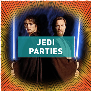 Image of Jedi Party - Its a blast for all! learn the ways of The Force with your Favourite Jedi