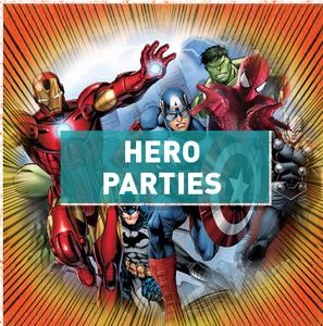 Image of Hero Parties - It's action, adventure and hilarity for everyone!