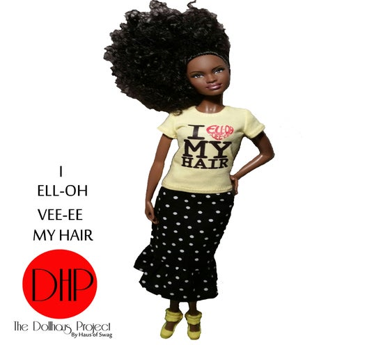 Image of I Love My Hair fashion doll