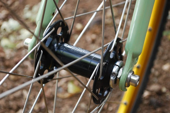 Image of Paul Component High Flange Track Hub - Front