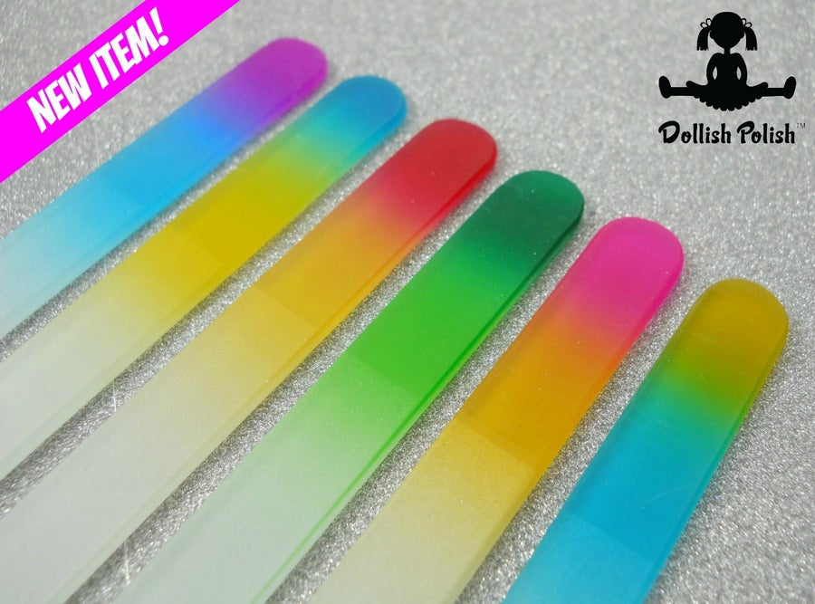 Image of Gradient Crystal Glass Nail File