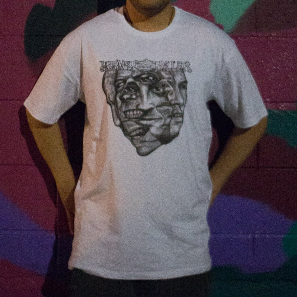 "Image of T-Shirt w/Album Cover or ""Hallelujah, Hallucination"""