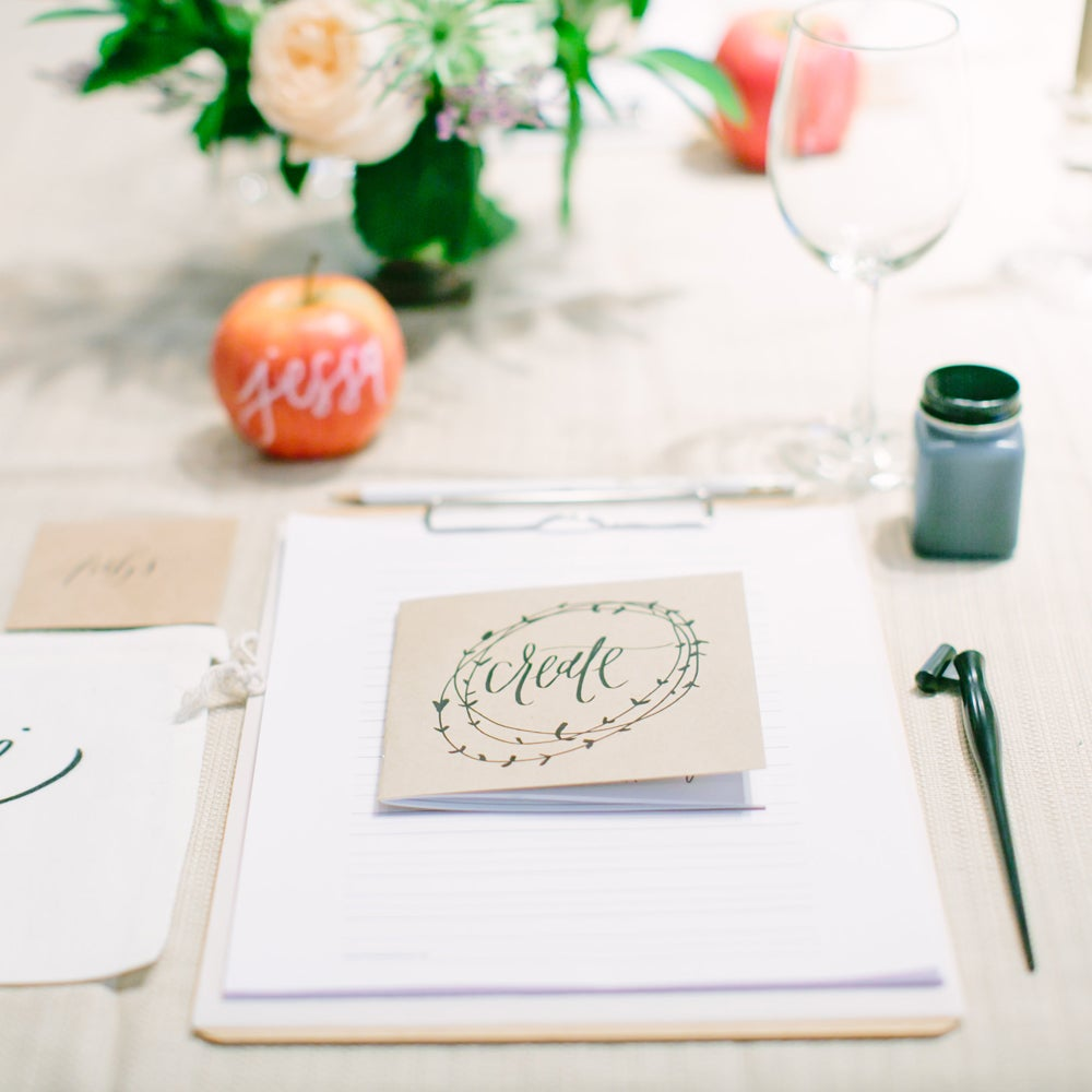Image of Valentine's Calligraphy Brunch Gift Ticket