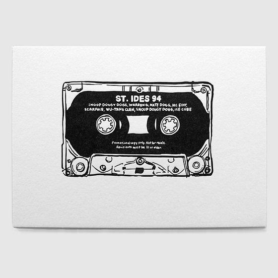 Image of St. Ides Mixtape Print