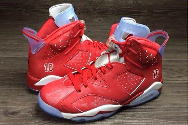 ea3e3fa7d277b Air Jordan 6 Slam Dunk / Heat On Feet
