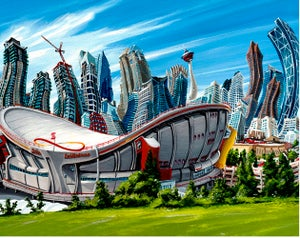 Image of Downtown Calgary Limited Edition Giclee