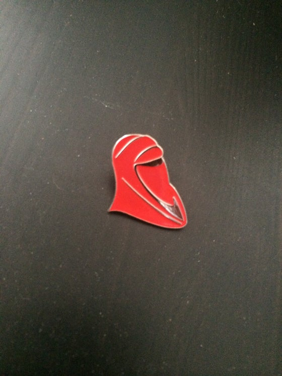 Image of Royal Guard Helmet Lapel Pin