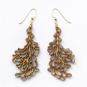 Image of Large Petal Earrings