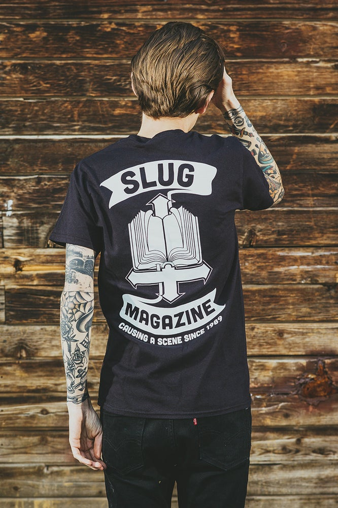 Image of Black SLUG Bible Tee