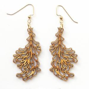 Image of Medium Petal Earrings