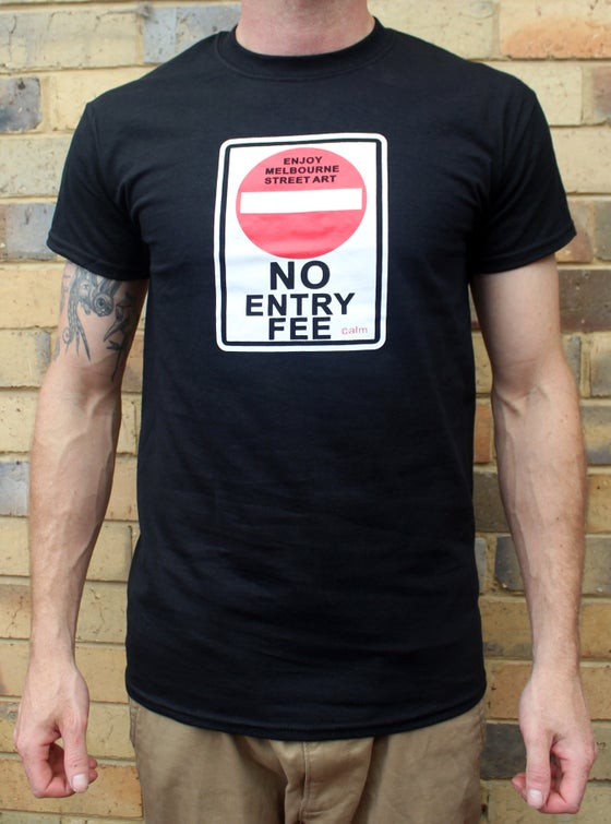"Image of Calm ""No Entry Fee"" Tee"