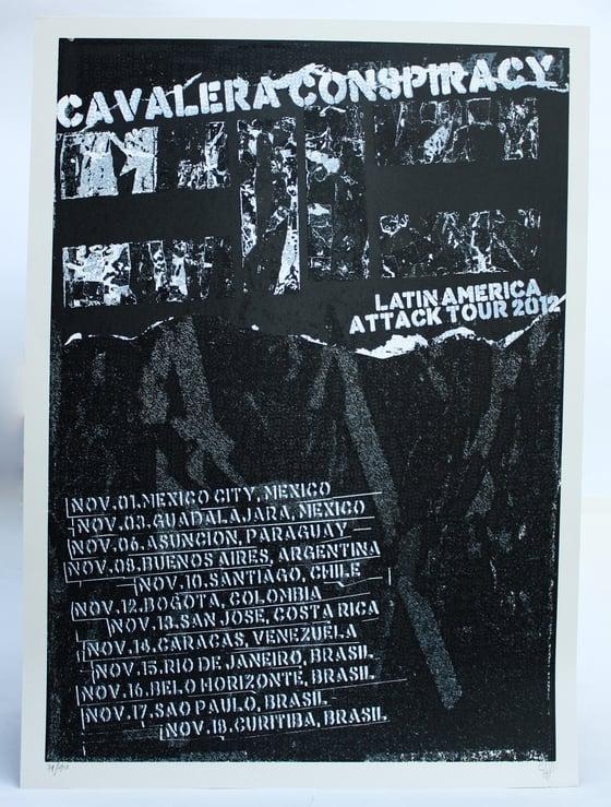 Image of Cavalera Conspiracy 48x66 cm