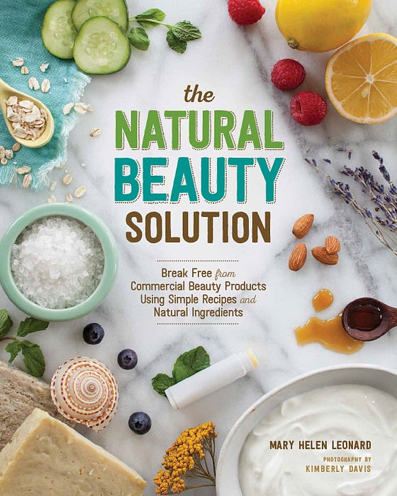 Image of The Natural Beauty Solution (signed copy)