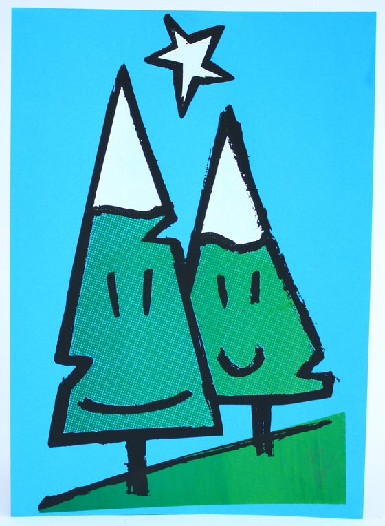 Image of Twinpines 24x31cm