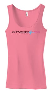 "Image of Fitness4Her - ""Pink"" Tank Top (Women's)"