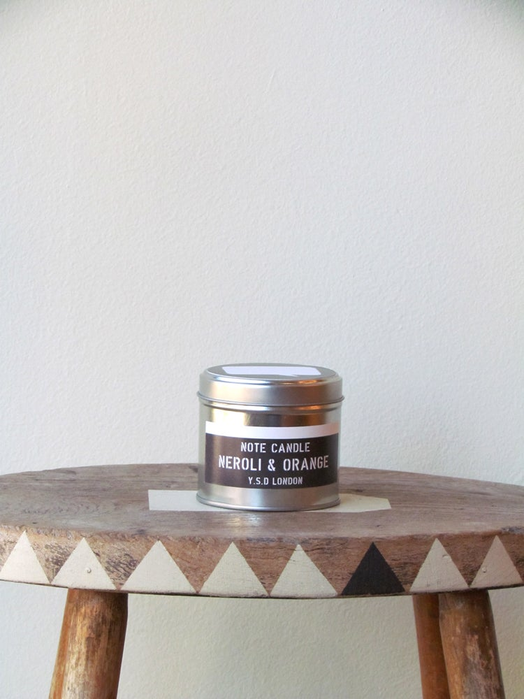 Image of NEROLI & ORANGE NOTE CANDLE