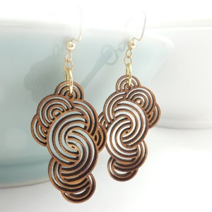 Image of Medium Cloud Earrings