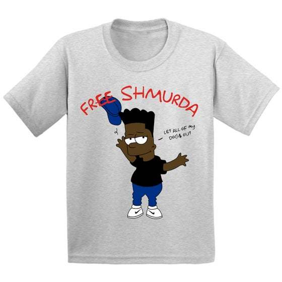 Image of SHMURDA SIMPSON TEE
