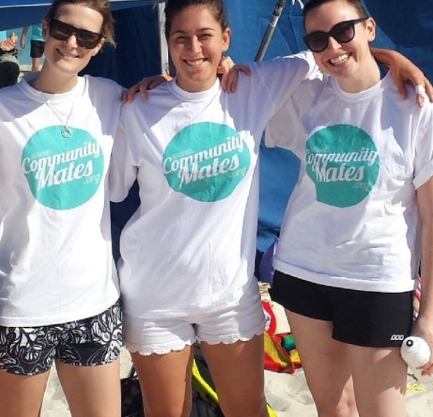 Image of Commmunity Mates Womens T-Shirt