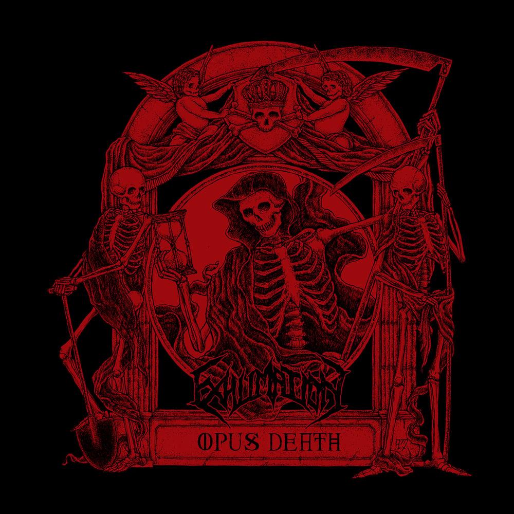 "EXHUMATION ""Opus Death"" Super Jewel Box CD"