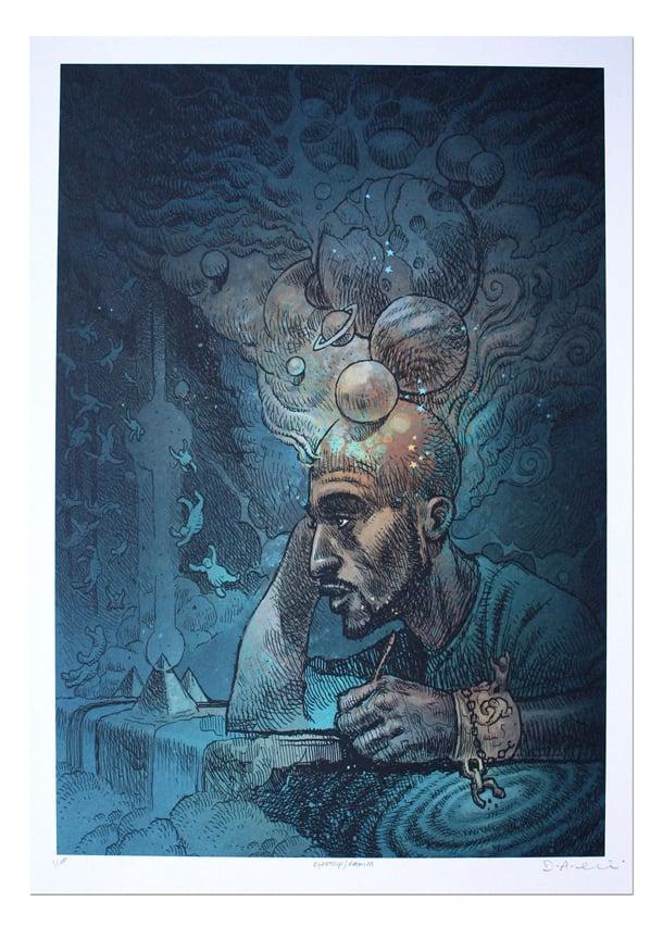 Image of Rakim - Lithograph Print