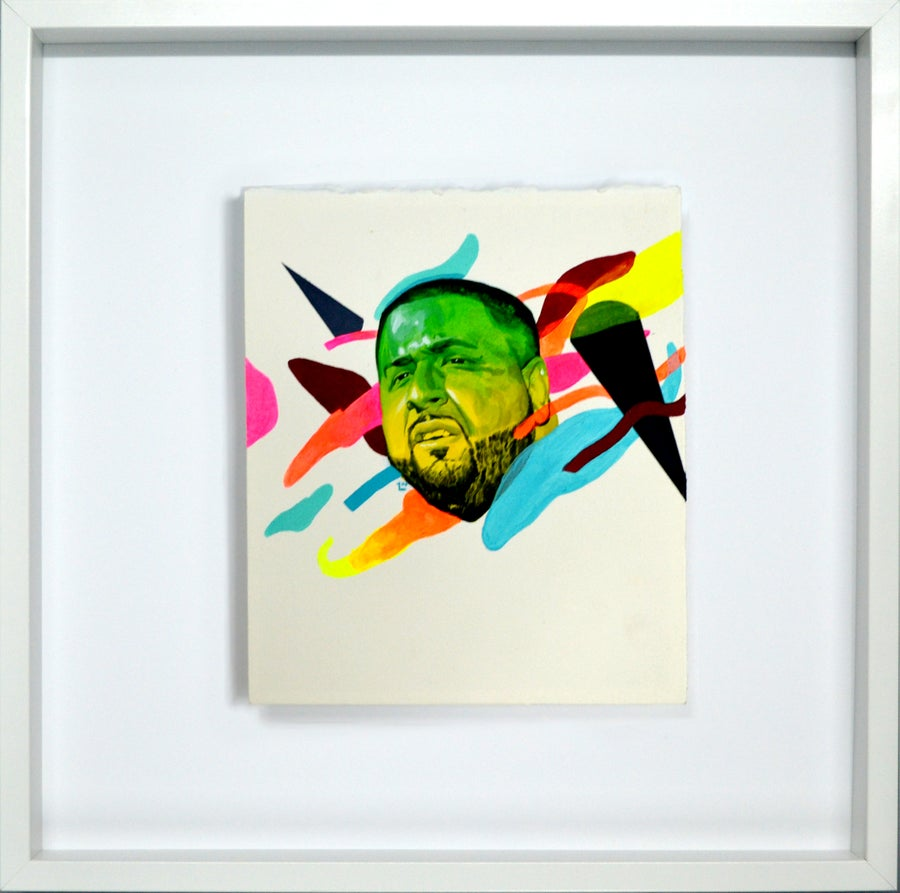 Image of Neon City Show Framed Originals x Art Basel Miami