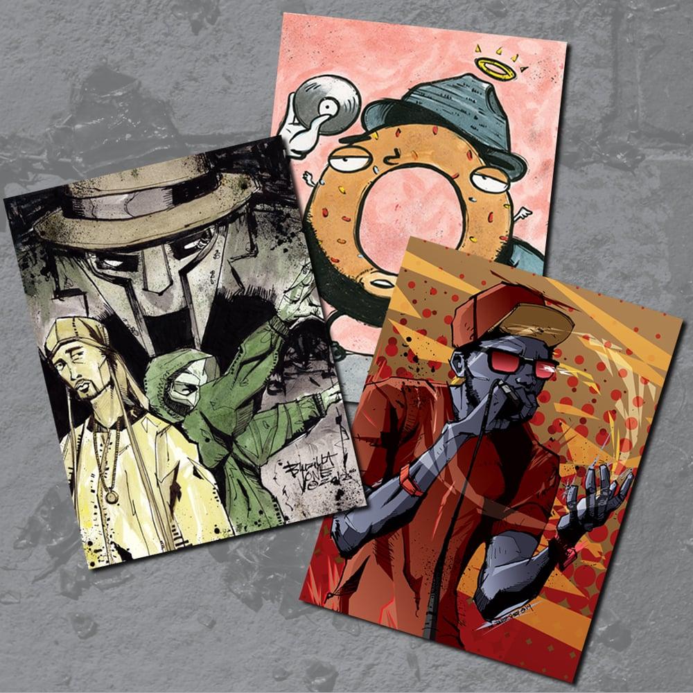Image of HIP HOP Sticker Pack