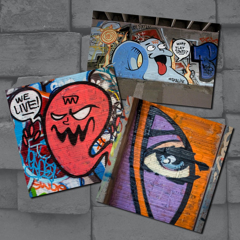 Image of STREET ART Sticker Pack