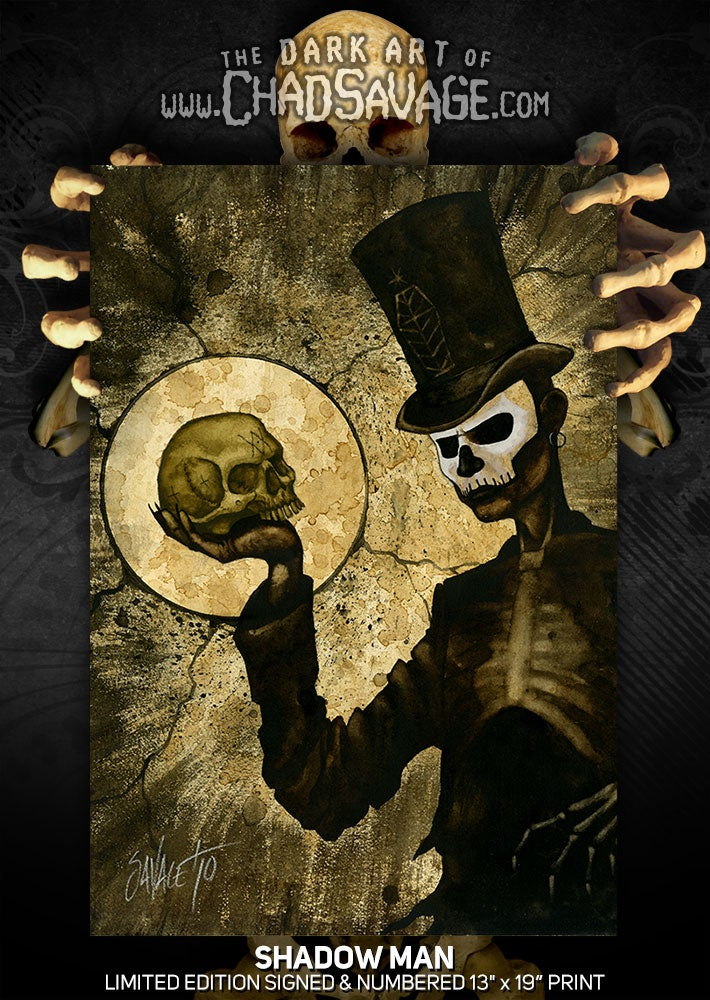"""Image of """"Shadow Man"""" Limited Edition Print"""