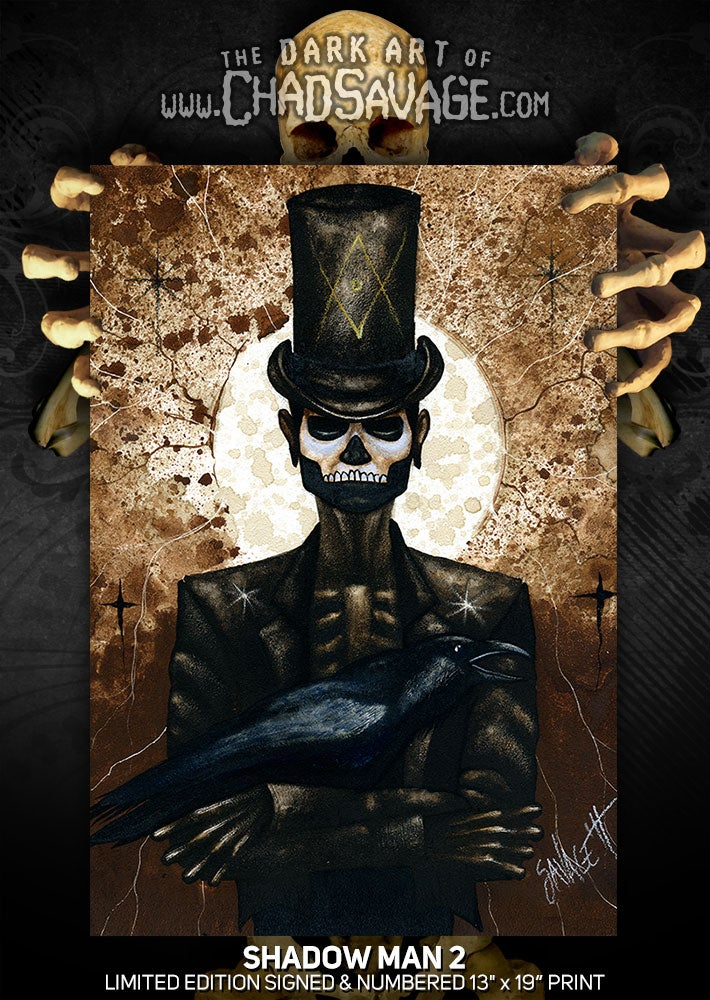"""Image of """"Shadow Man 2"""" Limited Edition Print"""