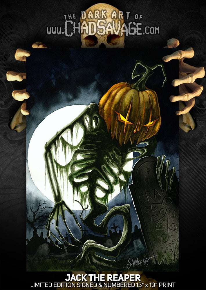 """Image of """"Jack the Reaper"""" Limited Edition Print"""