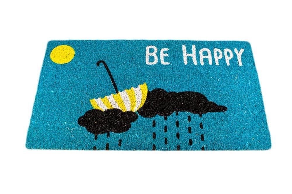 "Image of Felpudo ""Be Happy"""