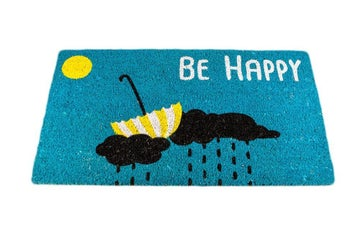 "Image of Felpudo ""Be Happy"""