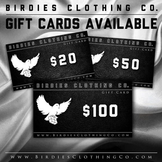 Image of Birdies Clothing Co. Gift Card ($20, $50 or $100)